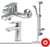 Набор смесителей для ванны VOLLE Benita (15171100 + 15172100 + 15146100)