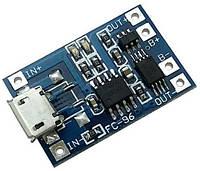 Micro USB Контроллер заряда/разряда, плата защиты,модуль 1S li-ion TP4056 1А