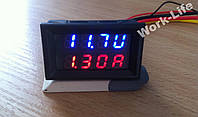 Вольтметр с Амперметром 0.01-100V / 10А