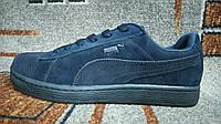 Подростковые городские кроссовки Puma (пума) темно синие 40-46