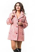 Короткое женское демисезонное пальто-пиджак, рр 42-