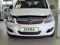 Дефлекторы капота Sim для Opel Zafira 2006-11