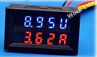 Вольтметр с Амперметром 0.01-100В / 0.01-20А шунт встроен в прибор