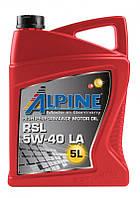 Масло моторное Alpine RSL 5W-40 LA синтетическое 5л