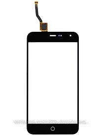 Тачскрин (сенсор) Meizu M1, M1 Mini, black (черный)
