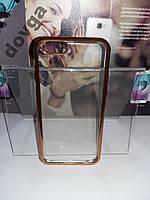 Чехол силикон накладка Оригинал Apple IPhone 6 зол