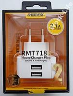 Зарядка для планшета REMAX 2USB 2.1A(RMT7188) ТЕСТ