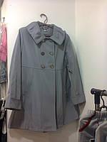 Плащ-пальто для девочки, рост  140-146