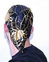 Шапка бандана паук (золото) 090916-011