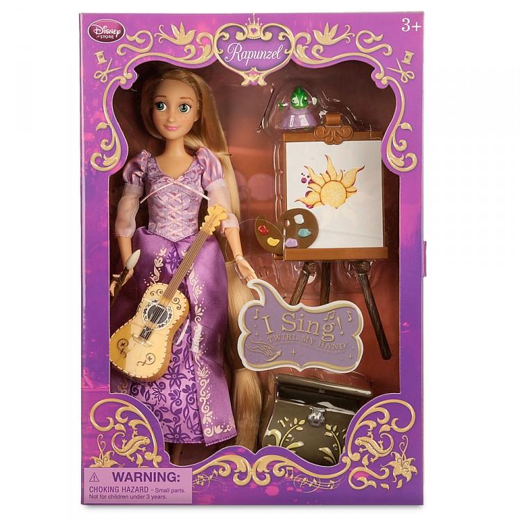 Рапунцель поющая кукла принцесса в подарочной коробке с аксессуарами ДИСНЕЙ / DISNEY