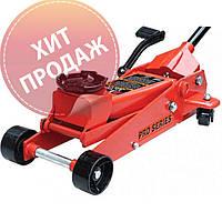 Домкрат подкатной TORIN T83502 3т 145-500 мм. (с педалью)