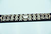 Кристальный браслет в оправе под золото. Бижутерия низких цен в Украине. 905
