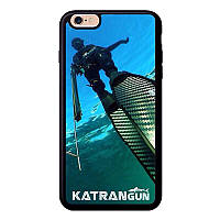 Чехол на айфон с логотипом KatranGun