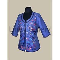 Блуза Дзвіночок голуба