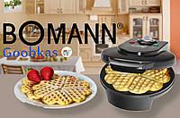 Вафельница BOMANN WA 5018 черного цвета Германия Топ продаж