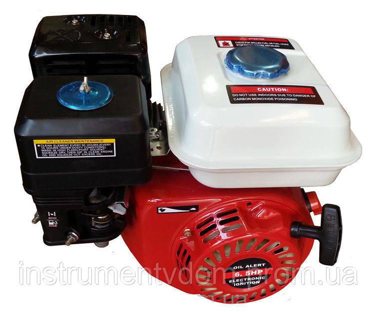 Двигатель бензиновый 168F со шкивом (для мотоблока)