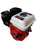 Двигатель бензиновый 168F со шкивом (для мотоблока), фото 3