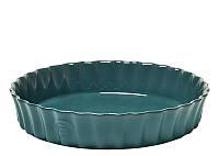 Форма для пирога Emile Henry 28 см голубая 976028