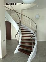 Лестница из нержавеющей стали вХарькове