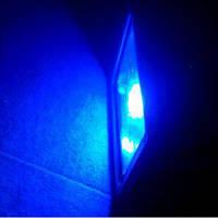 LED прожектор 30Вт синий, фото 1