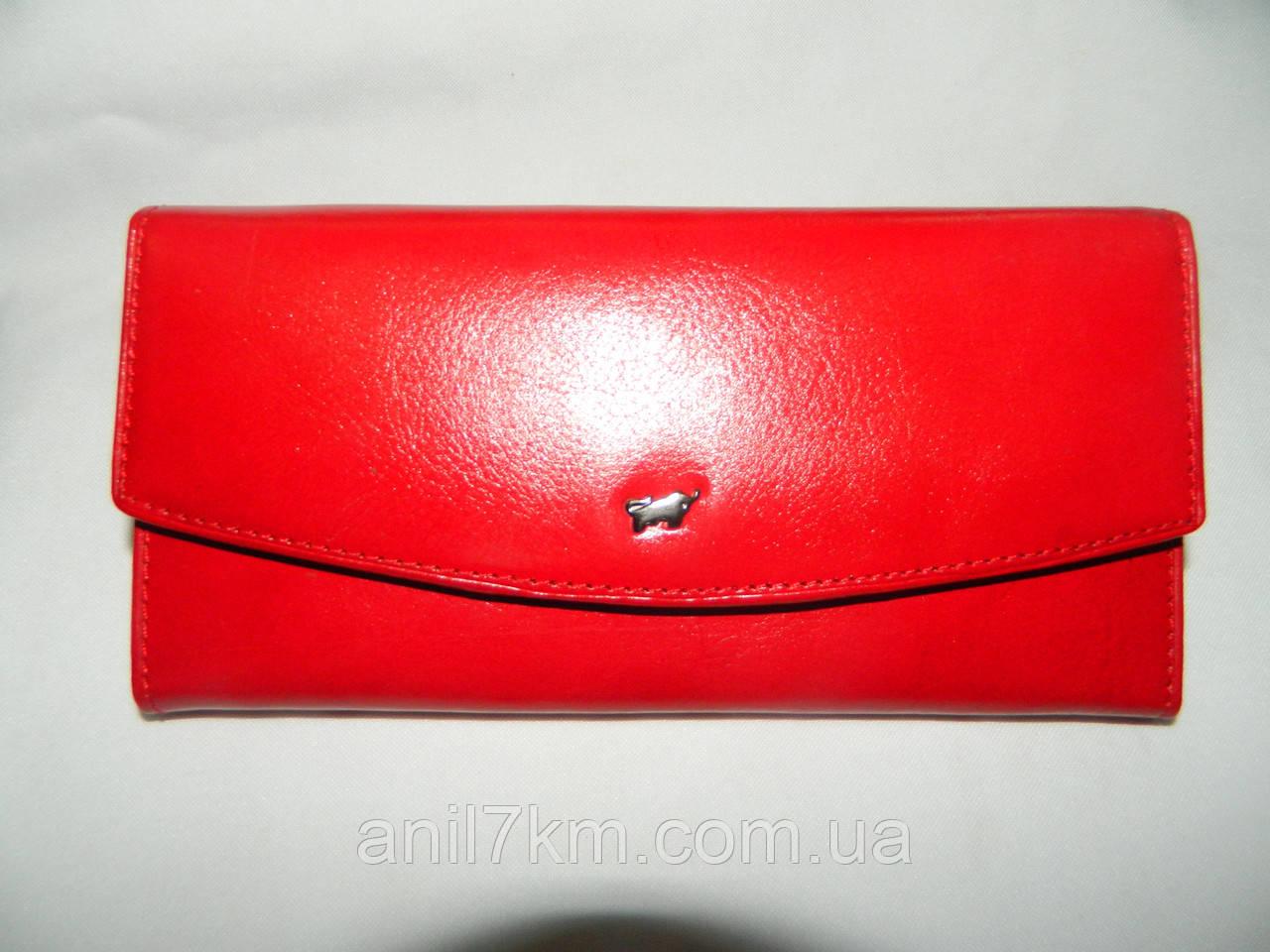 Жіночий шкіряний гаманець фірми BRAUN BUFFEL