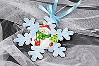 Снежинка №2  заготовка для декупажа и росписи