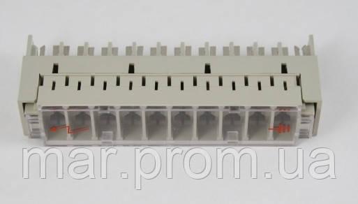 Магазин защиты на 10 пар для 3-х точечных разрядников