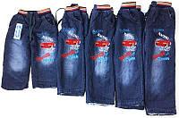 Детские утепленные джинсы для мальчика 3-6 лет