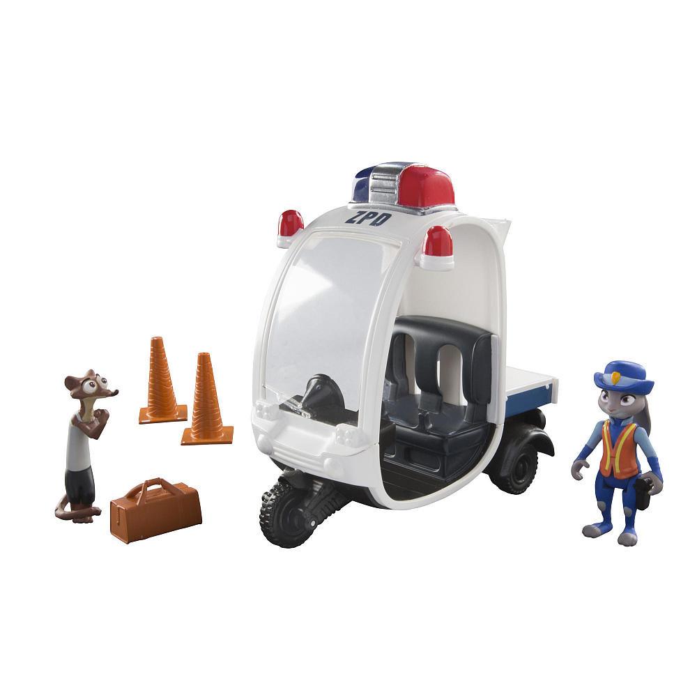 Зверополис Игровой набор Зайка Джуди Хоппс с мотороллером / Zootopia Disney