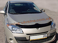 Дефлекторы капота Sim для Renault Megane седан 2002-09 2003