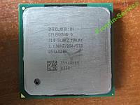 Процессор Intel Celeron D310 2.1GHz S478