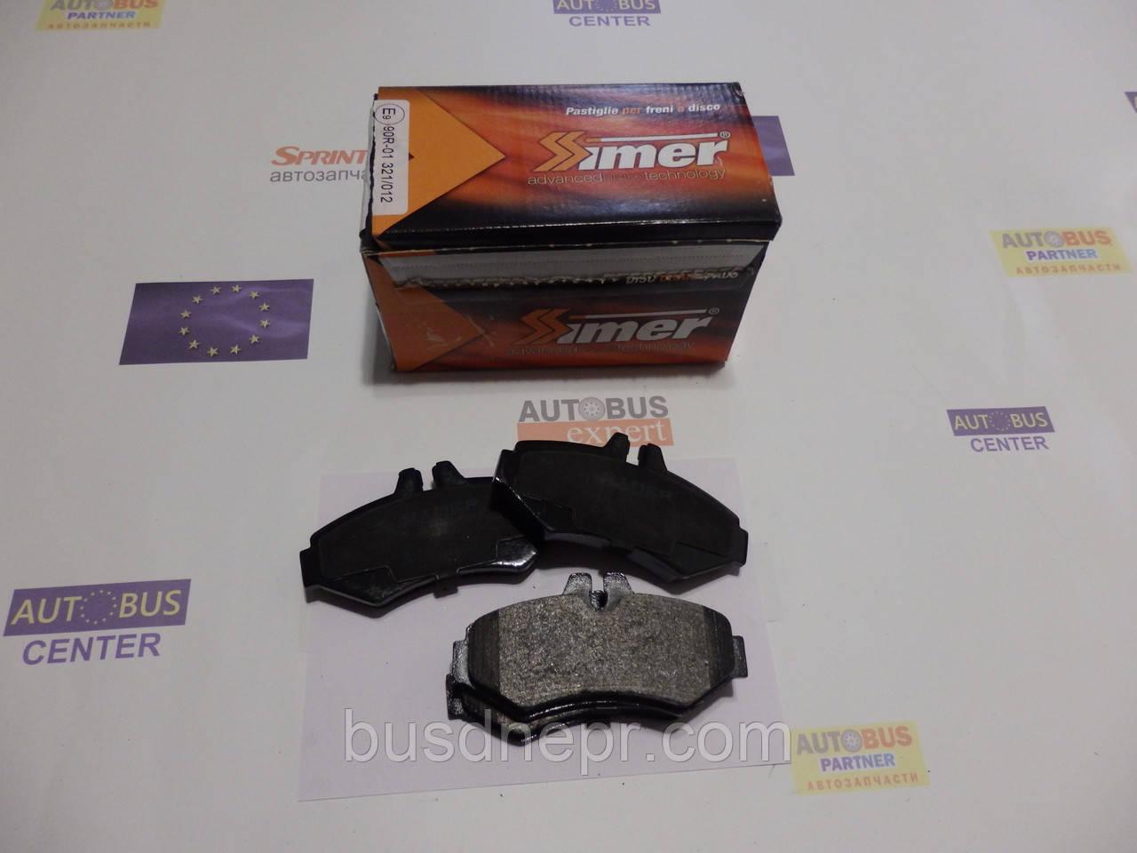 Тормозные колодки, задние VW LT, MB Sprinter 3 серия SIMER SI754