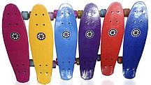Пенни борд Explore Penny Board 22 Vibro Fash (светятся колеса)