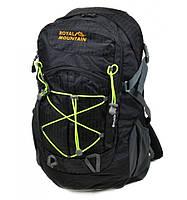 Рюкзак Туристический нейлон Royal Mountain 8343-22 black, рюкзак на охоту и рыбалку