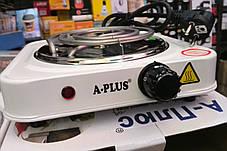 Электроплита A-PLUS 1000 Вт (спираль) , фото 2