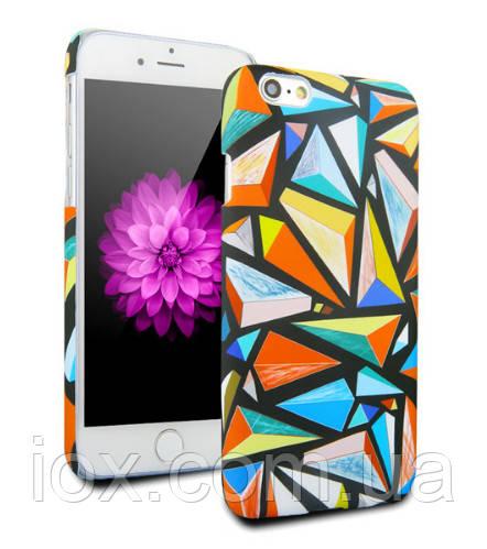 Пластиковый стильный чехол Витражи для Iphone 6/6s
