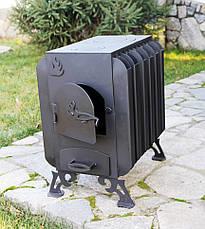 """Буржуйка """"Батарея"""" с вторичным дожигом печных газов, сталь 4мм, фото 2"""