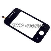 Сенсорное стекло Samsung S5360 черное. Оригинал