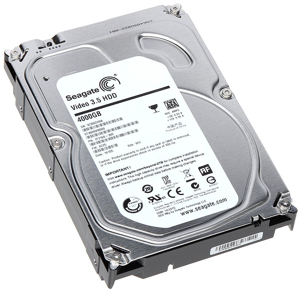 "Жесткий диск Seagate 4TB 3.5"" (ST4000VN000) ""Over-Stock"" Б/У"