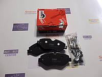 Тормозные колодки, передние(не спарка) MB Sprinter, VW Crafter 06- TRW GDB1698