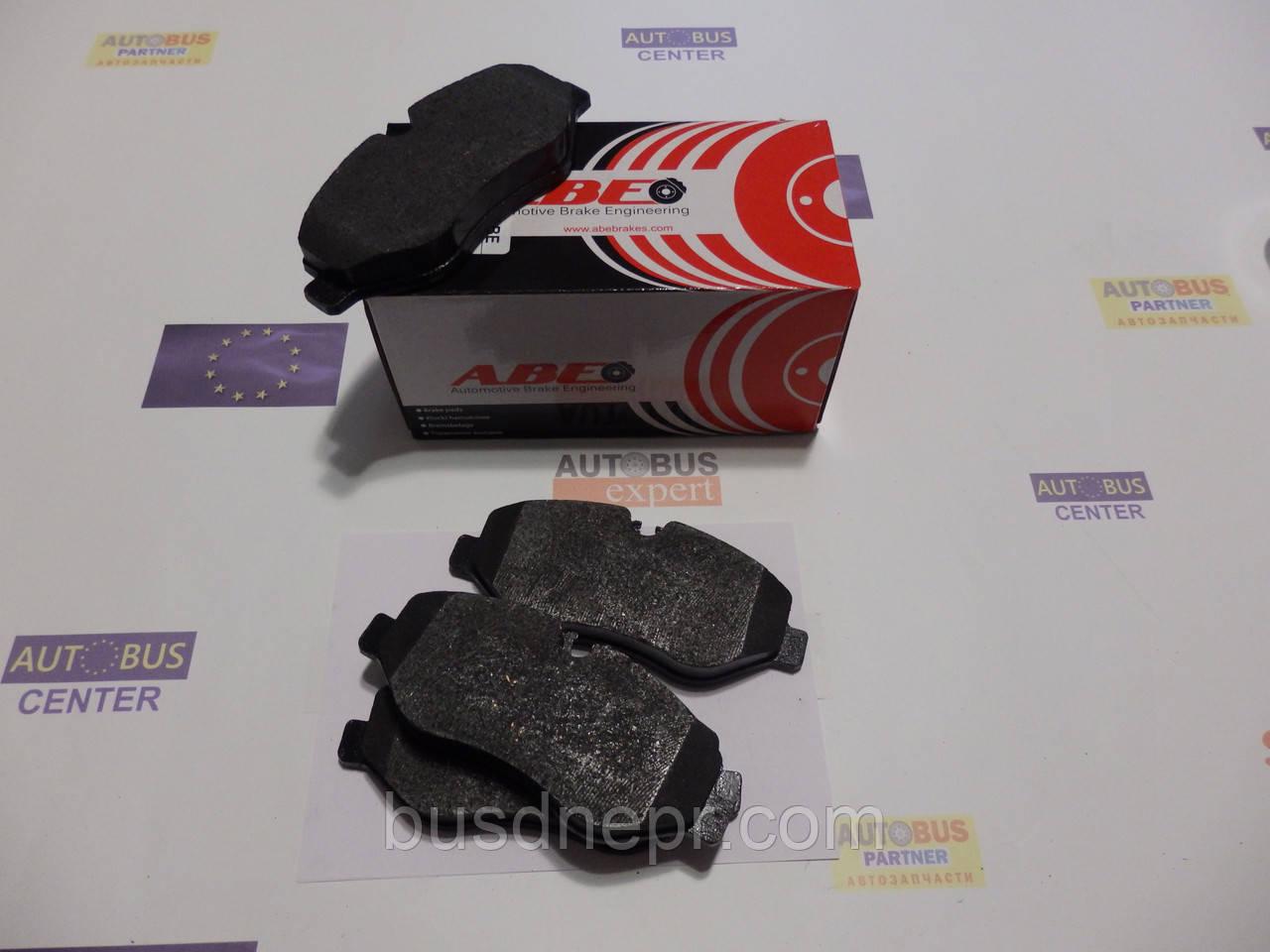 Тормозные колодки, передние (не спарка) MB Sprinter, VW Crafter 06- ABE C1M045ABE