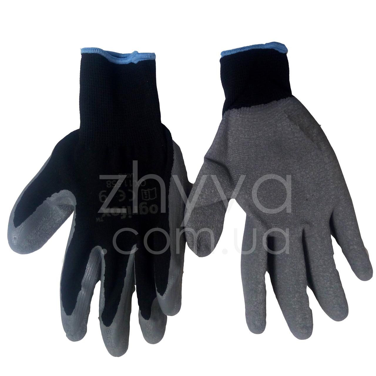 Рукавиці захисні OX-LATEKS 9 розмір / Перчатки защитные OX-LATEKS 8 размер