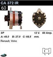 Генератор Renault  Volvo 60 Амр.CA372IR