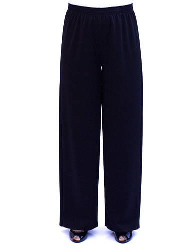 Трикотажные брюки клеш
