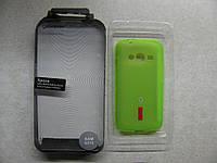 Чехол силиконовый Capdase Samsung G313 + пленка