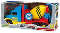 Super Truck Бетономешалка маленькая (Wader) 36590