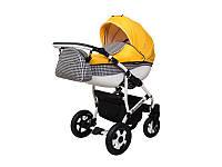 """Детская коляска 2в1 """"Viper Fashion"""" желтая"""