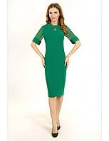 Коктейльное платье делового стиля с рукавами
