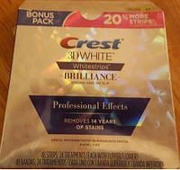 Полоски для отбеливания зубов до 5 тонов. 8-ми дневный курс, 16 полосок. Crest Professional Effects