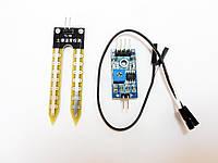Гигрометр, датчик влажности почвы, модуль Arduino